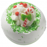 Bomb Cosmetics - Candy Cane Lane - Bath Ball