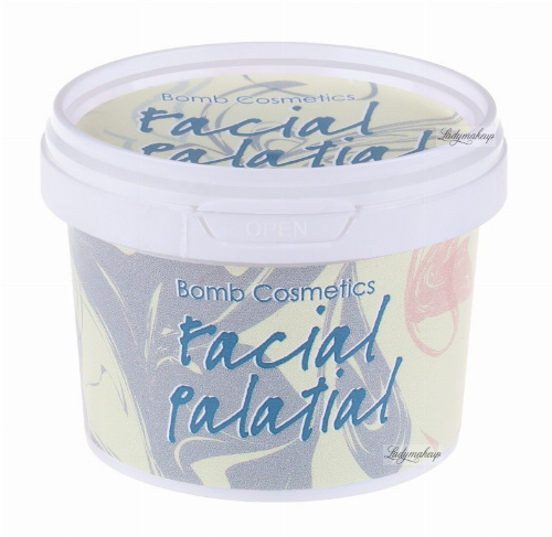 Bomb Cosmetics - Facial Palatial - Scrub do twarzy