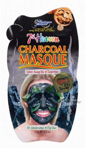 7th Heaven (Montagne Jeunesse) - CHARCOAL MASQUE - Oczyszczająca maska 2 w 1