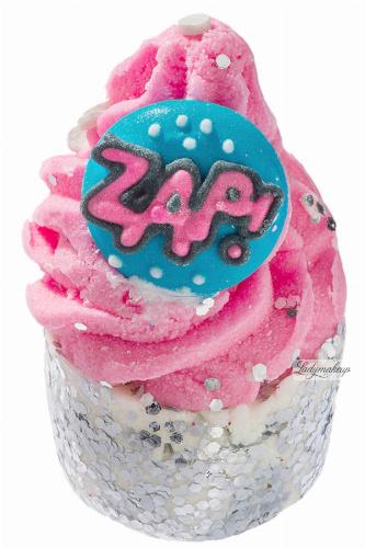 Bomb Cosmetics - Zap That! - Creamy Bath Cupcake- ZAP