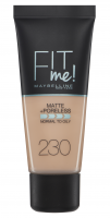 MAYBELLINE - FIT ME! Liquid Foundation For Normal To Oily Skin - Podkład matujący do twarzy - 230 NATURAL BUFF - 230 NATURAL BUFF