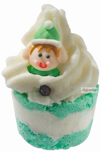 Bomb Cosmetics - Elf on a Shelf - Creamy Bath Cupcake