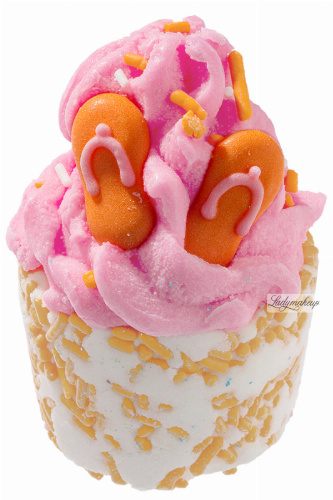 Bomb Cosmetics - Flip Flop - Creamy Bath Cupcake