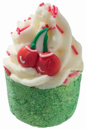 Bomb Cosmetics - Mon Cheri - Creamy Bath Cupcake