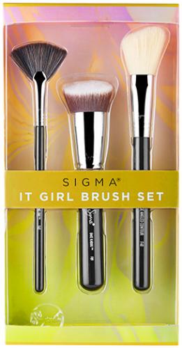 Sigma - IT GIRL BRUSH SET - Zestaw 3 pędzli do makijażu twarzy