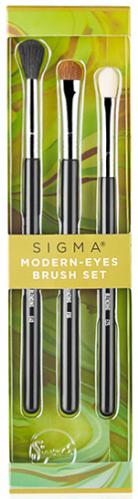 Sigma - MODERN-EYES BRUSH SET - Zestaw 3 pędzli do makijażu oczu