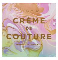 Sigma - CREME DE COUTURE - PRESSED COLOR PALETTE - Paleta 16 cieni do powiek