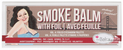 The Balm - SMOKE BALM Vol. 4 - Foiled Eyeshadow Palette - Paleta 3 cieni do powiek