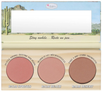 The Balm - GIRLS GETAWAY TRIO - Long-Wearing Bronzer/Blush - Zestaw 3 róży do policzków