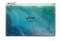 NYX Professional Makeup - MAKEUP BRUSH SET - In your element - WATER - Zestaw 3 pędzli do makijażu twarzy + kosmetyczka