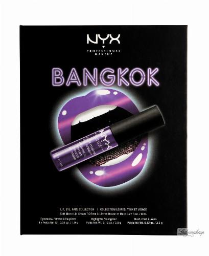 NYX Professional Makeup - CITYSET Wanderlust Lip, Eye & Face Palette - Zestaw kosmetyków do makijażu - BANGKOK