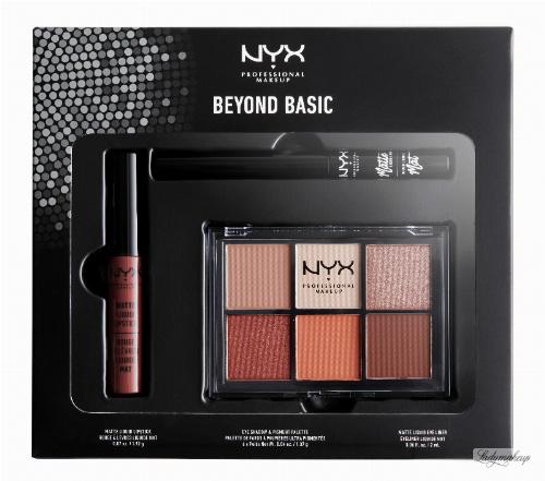NYX Professional Makeup - BEYOND BASIC - SLAY EVERY DAY LOOK SET - Zestaw kosmetyków do makijażu oczu i ust