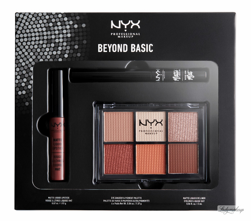 6fc8f7e9f43 NYX Professional Makeup - BEYOND BASIC - SLAY EVERY DAY LOOK SET