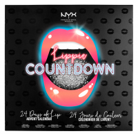 NYX Professional Makeup - LIPPIE COUNTDOWN 24 DAYS OF LIP - ADVENT CALENDAR - Set of 24 lipsticks