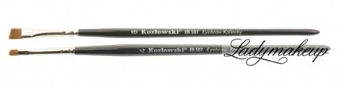 Kozłowski - Pędzel skośny do brwi - EB 507 Eyebrow Kolinsky