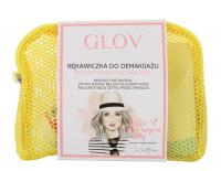 GLOV - TRAVEL SET - Zestaw podróżny do demakijażu twarzy - YELLOW - YELLOW