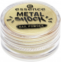 Essence - METAL SHOCK - NAIL POWDER - Puder do lakieru do paznokci