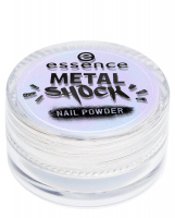 Essence - METAL SHOCK - NAIL POWDER - Puder do lakieru do paznokci - 02 - 02