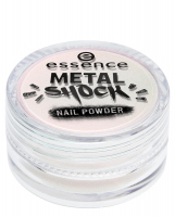 Essence - METAL SHOCK - NAIL POWDER - Puder do lakieru do paznokci - 03 - 03