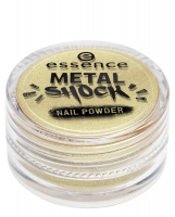 Essence - METAL SHOCK - NAIL POWDER - Puder do lakieru do paznokci - 04 - 04