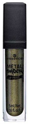 Essence - METAL SHOCK LIP PAINT - Metaliczny błyszczyk do ust