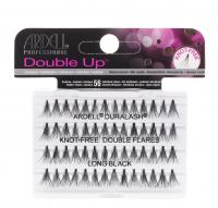 ARDELL - Double Up -  Increased Volume Eyelashes - KNOTTED-FREE - LONG BLACK - KNOTTED-FREE - LONG BLACK