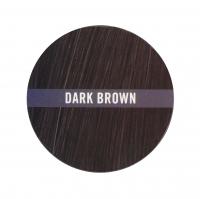 ARDELL - Thick FX - HAIR BUILDING FIBER - Koloryzujący preparat do zagęszczania włosów - DARK BROWN - DARK BROWN
