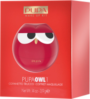 PUPA - OWL 1 - 004 Red Shades - Zestaw do makijażu ust