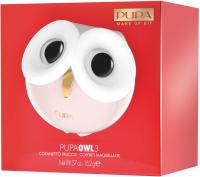 PUPA - OWL 3 - 001 Warm Shades - Zestaw do makijażu twarzy, oczu oraz ust