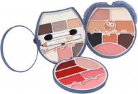 PUPA - OWL 4  - 002 Warm Shades - Zestaw kosmetyków do makijażu