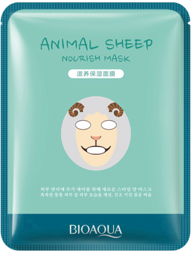 BIOAQUA - Animal Sheep Nourish Sheet Mask