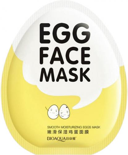 BIOAQUA - EGG FACE SHEET MASK