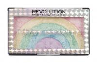 MAKEUP REVOLUTION - RAINBOW HIGHLIGHTER - Tęczowy rozświetlacz do twarzy