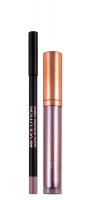 MAKEUP REVOLUTION - RETRO LUXE - METALLIC LIP KIT - Lip Pencil & Liquid Lipstick - THE REBELLION - THE REBELLION
