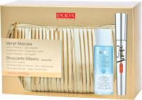 PUPA - Zestaw do makijażu - Vamp! Mascara + Płyn do demakijażu Struccante Bifasico + Kosmetyczka Gold