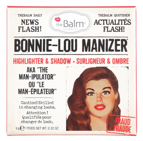 The Balm - BONNIE-LOU MANIZER - HIGHLIGHTER & SHADOW