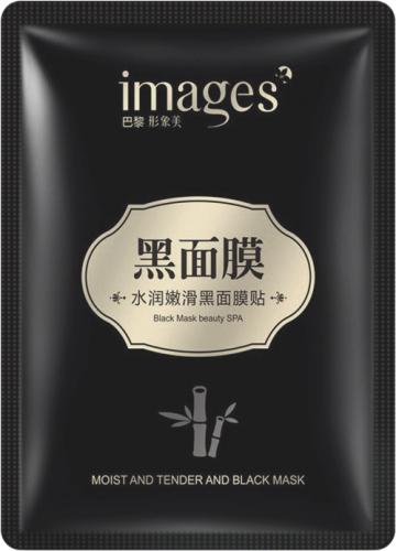 IMAGES - Black Mask Beauty SPA - Oczyszczająca, czarna maska w płacie