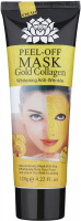 24k GOLD COLLAGEN MASK - Whitening Anti-Wrinkle - Peel Off Facial Mask - Kolagenowa maska ze złotem PEEL OFF