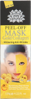 24k GOLD COLLAGEN MASK - Whitening Anti-Wrinkle - Peel Off Facial Mask