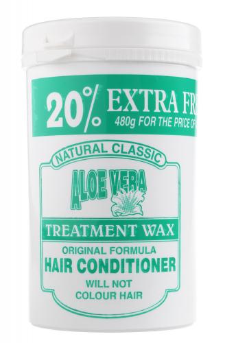 NATURAL CLASSIC - ALOE VERA TREATMENT WAX - HAIR CONDITIONER