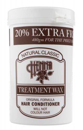 NATURAL CLASSIC - HENNA TREATMENT WAX - HAIR CONDITIONER - Odżywka do włosów