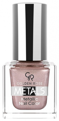 Golden Rose - Metals Metallic Nail Color - Metaliczny lakier do paznokci