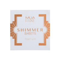 MUA - LUXE - Shimmer Sheets by MUA - Illuminating papers - ROSE GOLD - ROSE GOLD