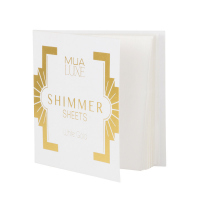 MUA - LUXE - Shimmer Sheets by MUA - Illuminating papers