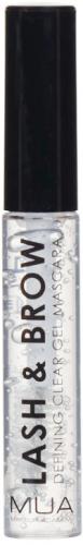 MUA - LASH & BROW Defining Clear Gel Mascara - Żel do stylizacji rzęs i brwi