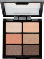 MUA - 6 Shade Palette - Coral Delights