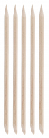 Inter-Vion - Wooden manicure sticks - Short, oval - 5 pieces