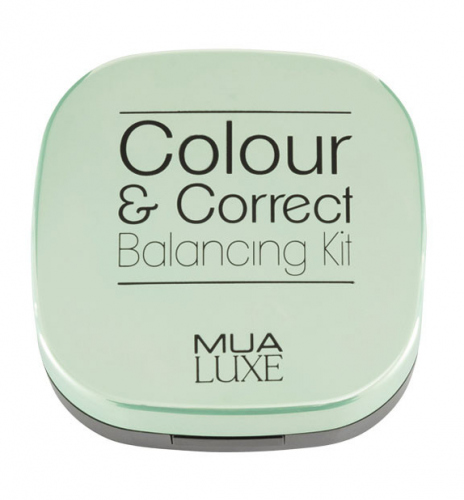 MUA - LUXE - Colour & Correct - Balancing Kit - Zestaw kamuflujących kosmetyków do makijażu twarzy