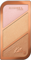 RIMMEL - HIGHLIGHTING PALETTE - 3 Highlighters