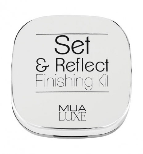 MUA - LUXE - Set & Reflect - Finishing Kit - Transparent powder and highlighter